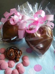 Baby Dragon Heart (packaging) - Cathryn Cariad Chocolates
