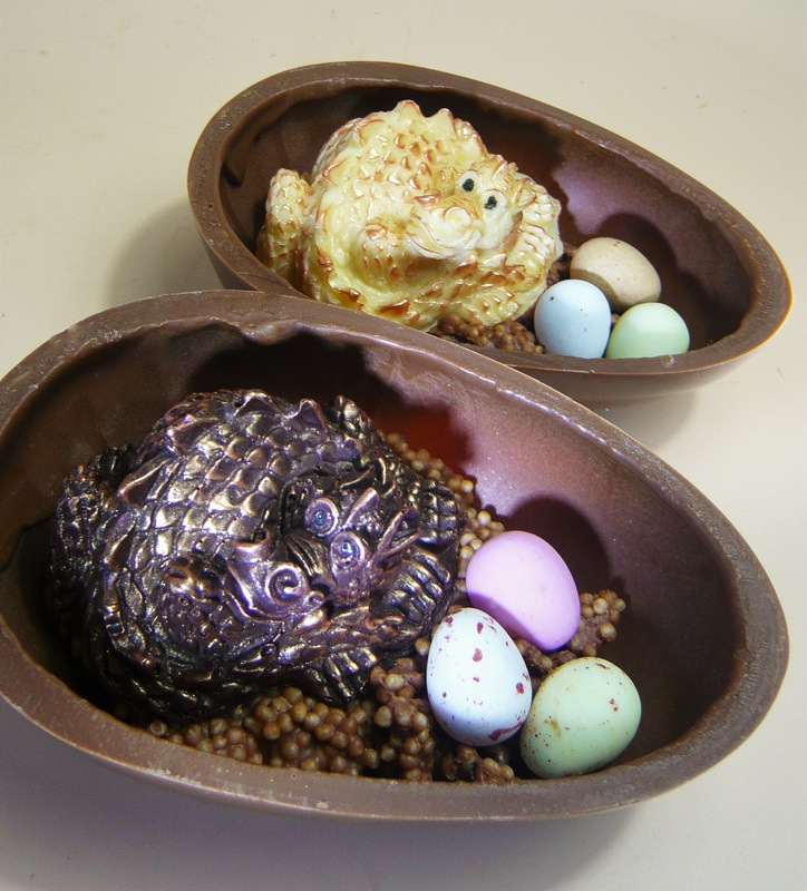 Chocolate Dragon Egg - Cathryn Cariad
